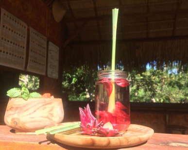 welcome-drink-sten-lodge-eco-homestay-labuan